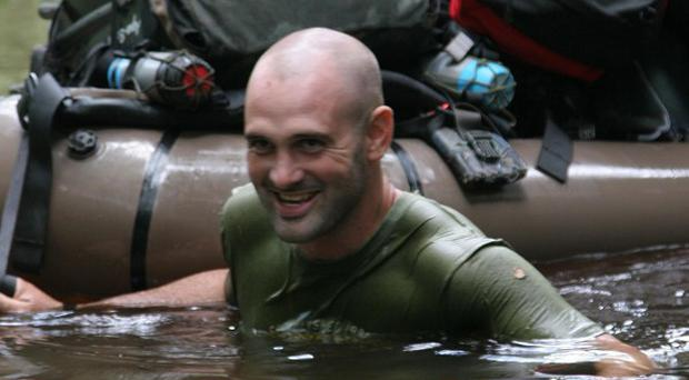 Former soldier Ed Stafford has been named European Adventurer of the Year