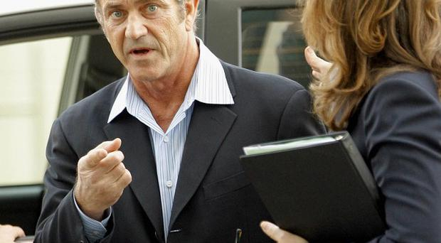 Mel Gibson has pleaded no contest to a battery charge (AP)