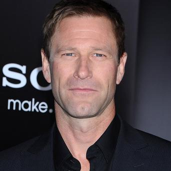 Aaron Eckhart stayed in character on the set of Battle: Los Angeles