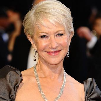 Dame Helen Mirren has worked with Russell Brand on two films