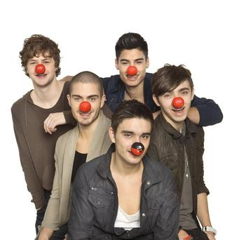 The Wanted's latest track Gold Forever is the official Comic Relief single