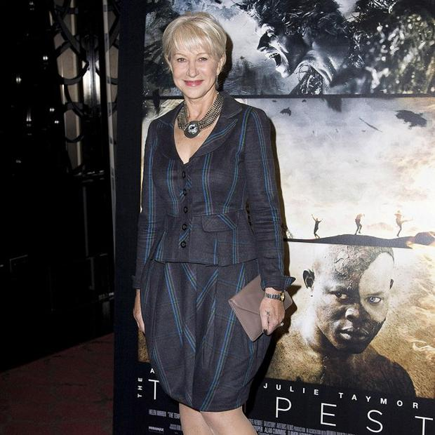 Dame Helen Mirren went off Shakespeare for a while