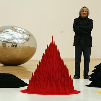 The UK has been overtaken by China as one of the world's key markets for work by artists such as Anish Kapoor