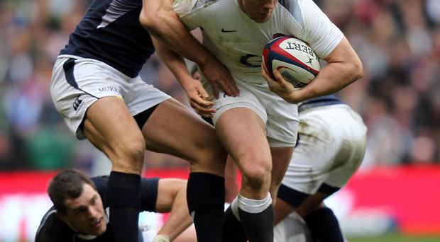 Mike Tindall (right)