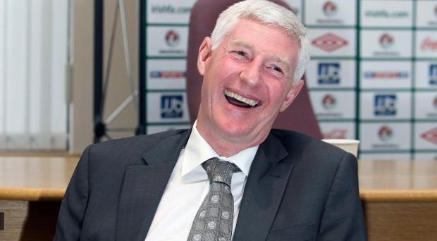 If there's pressure on Northern Ireland manager Nigel Worthington it wasn't showing when he named his squad in Belfast yesterday