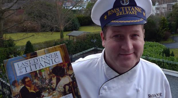 Conor McClelland, chef at Rayanne House