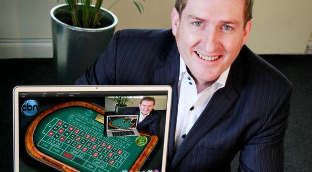 Michael O'Neill aims to broadcast live casino games through the internet
