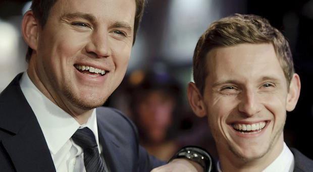 Channing Tatum and Jamie Bell became good pals filming The Eagle
