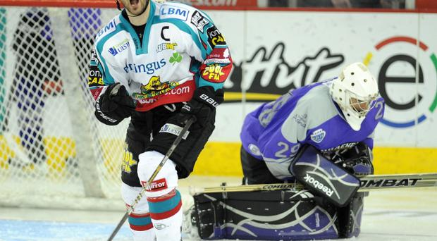 Colin Shields says the Giants can still overcome Nottingham Panthers at the Odyssey tonight