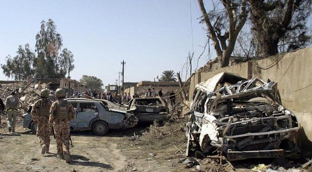 Suicide car bomb attacks have been a frequent danger in Iraq (AP)