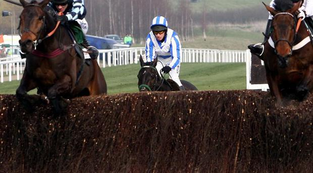 Captain Chris (left) joins Finian's Rainbow at the last
