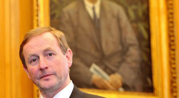Taoiseach Enda Kenny will keep his garda driver but most minister will lose theirs as part of cutbacks