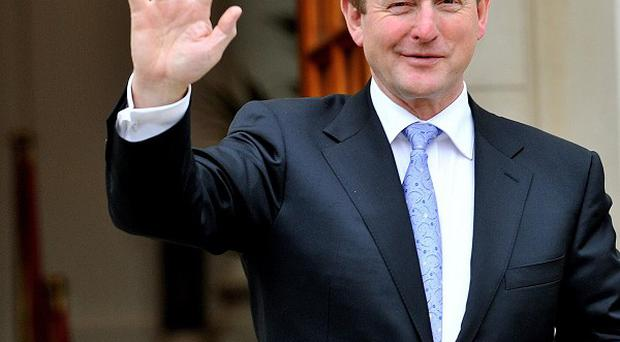 Taoiseach Enda Kenny took his first Leaders' Questions in the Dail