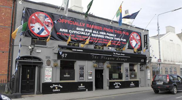 File photo dated 14/03/11 of the Players Lounge in Fairview near Dublin city centre
