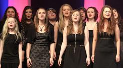 The cast of Les Miserables performs at the Belfast Telegraph Making The Difference Awards in association with SPAR at the Grand Opera House in Belfast. <b>To launch gallery click on inage above</b>
