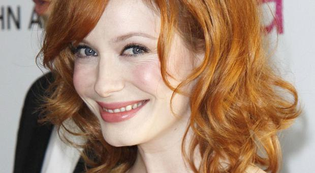Christina Hendricks has a role in Seconds Of Pleasure