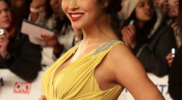 Myleene Klass has made a plaster mould of her pregnant belly