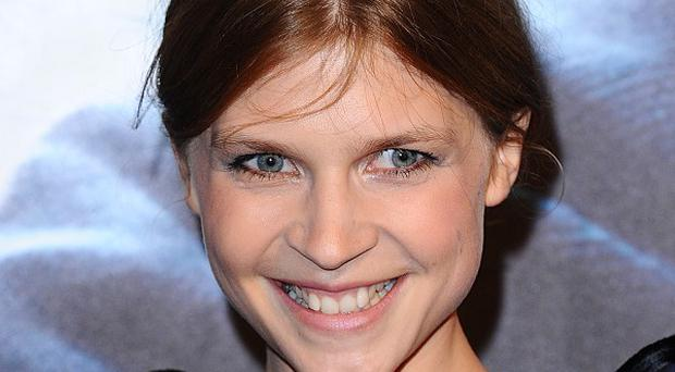 Clemence Poesy presented the Film of the Decade award to David Heyman for Harry Potter And The Prisoner Of Azkaban