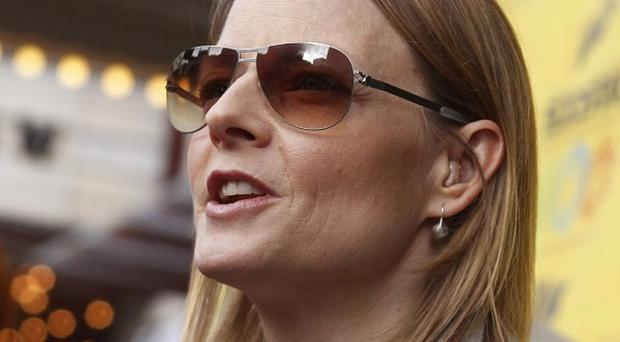 Jodie Foster premiered the movie The Beaver at the South by Southwest Film Festival (AP)