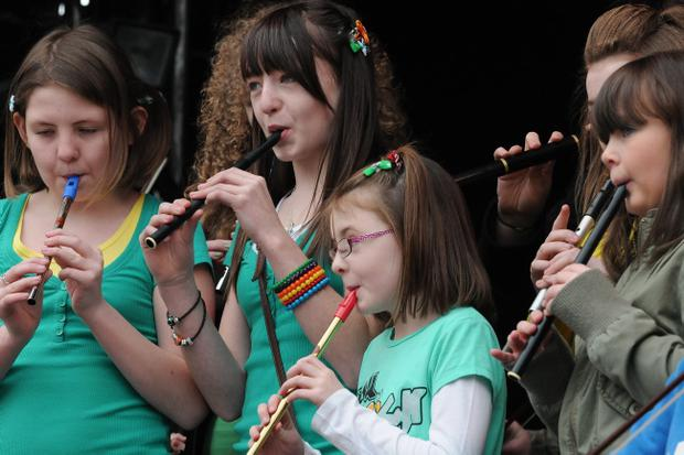St. Patrick's Day Spring Carnival in Derry. 17.3.11