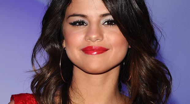 Selena Gomez blushed when she was asked about Justin Bieber on US TV