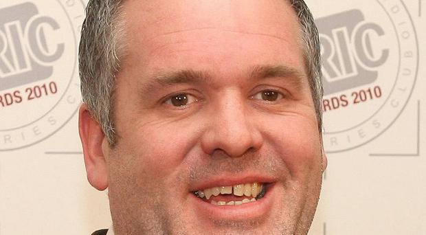 Radio 1 DJ Chris Moyles is trying to break a world record by staying on air for 51.5 hours