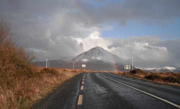 Mt Errigal, Donegal. March 2011. Submitted by Brendan