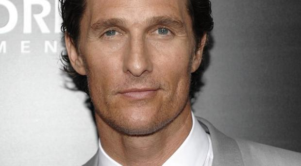 Matthew McConaughey reckons rom coms are hard work