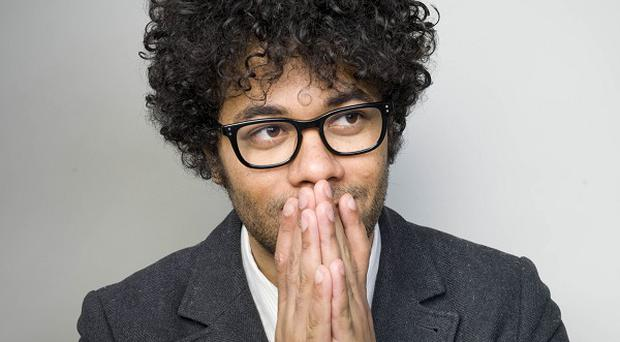 Richard Ayoade reckons good fortune plays a big part in success