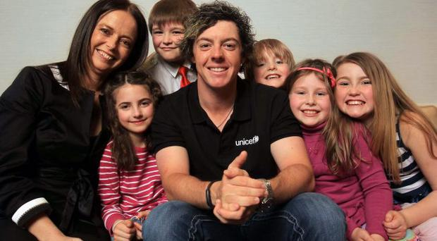 *****PRESS RELEASE NO REPRODUCTION FEE*****Golf Star Rory McIlroy appointed UNICEF Ireland Ambassador, Dublin 18/3/2011UNICEF Ireland today announced that golfing star Rory McIlroy has been appointed a UNICEF Ireland Ambassador.As an Ambassador, McIlroy will help fundraise, educate and advocate in support of UNICEFÕs global mission to help reduce the number of daily preventable deaths of children, from 22,000 to zero.