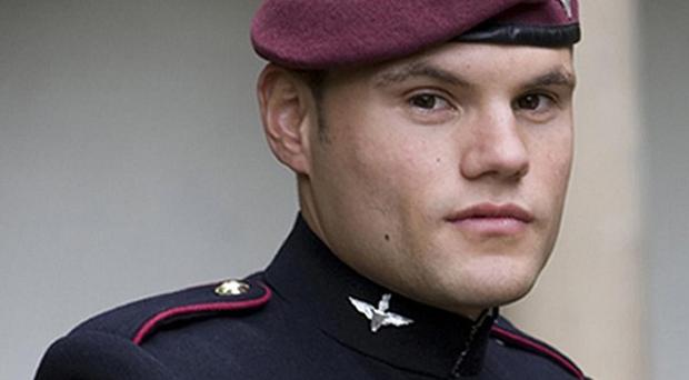 Private Daniel Steven Prior died in hospital in Birmingham after being wounded in an explosion in Afghanistan