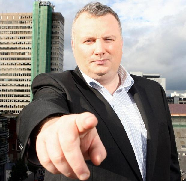 Radio phone-in host Stephen Nolan
