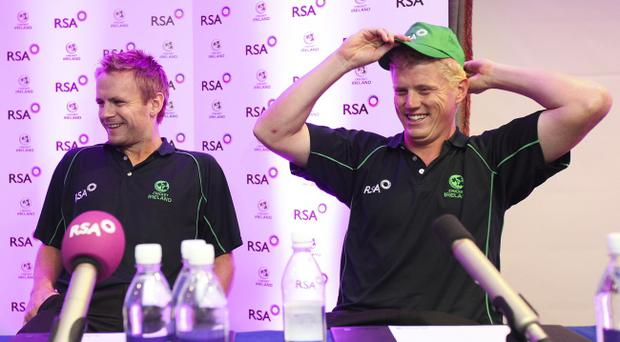 William Porterfield and Kevin O'Brien reflect on Ireland's World Cup campaign after returning home yesterday and now they could be facing Pakistan in a One Day International series