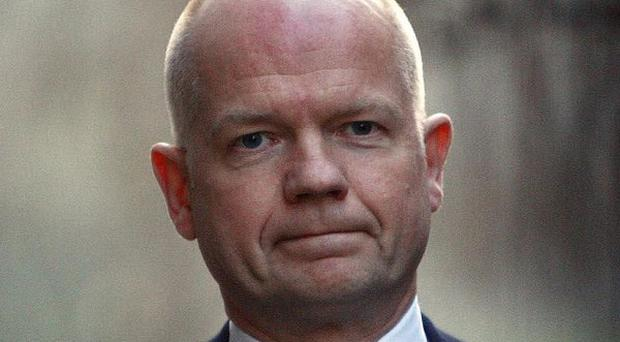 Foreign Secretary William Hague said the EU 'will not tolerate impunity' for human rights abuses in Iran