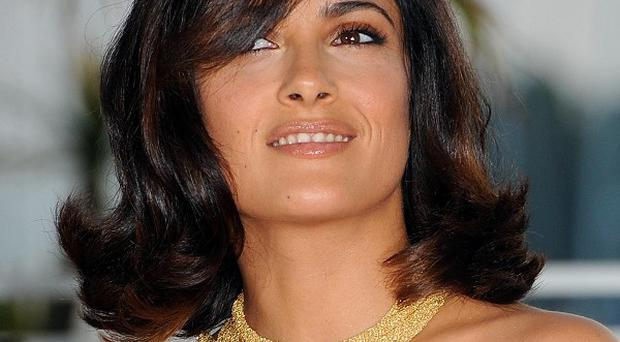 Salma Hayek has been linked to Savages