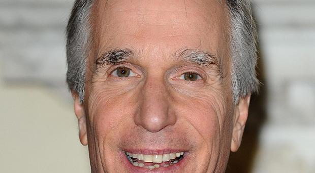 Henry Winkler was delighted to be honoured by the Queen