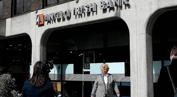 Documents on Anglo Irish Bank are with the Director of Public Prosecutions, officials said