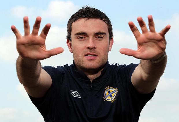 Northern Ireland new boy Lee Camp