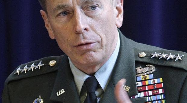 US General David Petraeus talks about the Nato mission in Afghnistan at the Royal United Services Institute