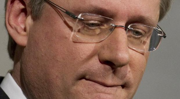 Canada's three opposition parties said they planned to topple the conservative government lead by Stephen Harper (AP)