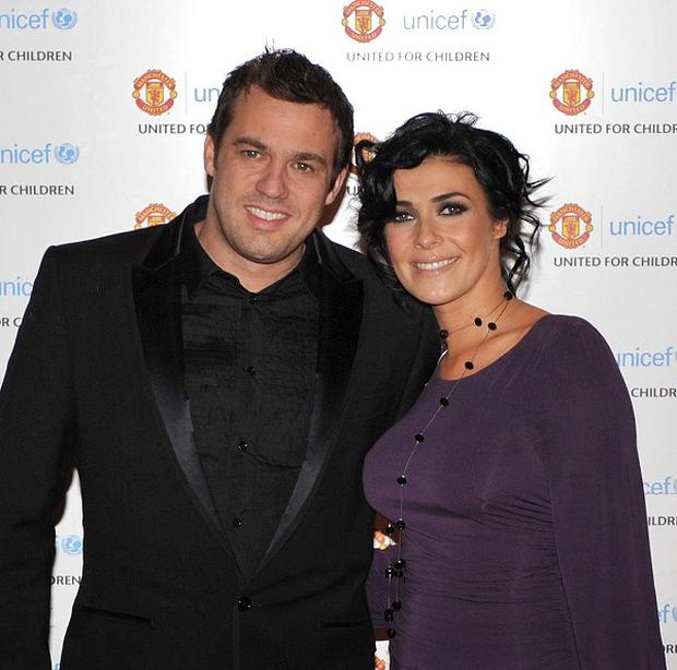 Jamie Lomas and Kym Marsh are the proud parents of a baby girl