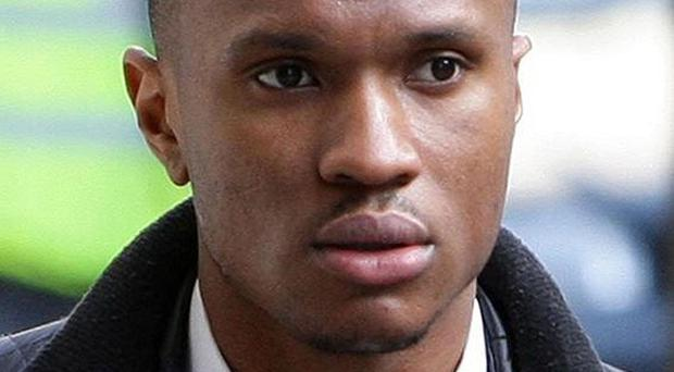 Manchester City striker Kelvin Etuhu has been jailed for his part in a drunken brawl during a night out