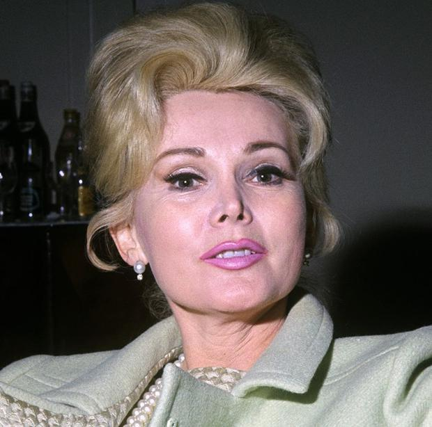 Hollywood legend Zsa Zsa Gabor, pictured here in 1966, has been taken to hospital with high blood pressure