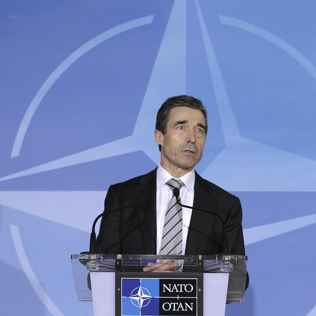 Nato Secretary General Anders Fogh Rasmussen said the alliance will enforce the no-fly zone in Libya