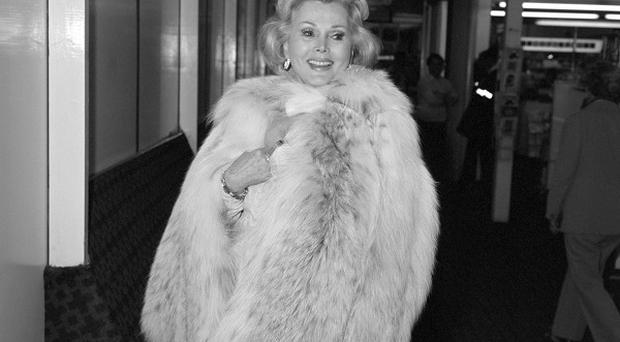 Zsa Zsa Gabor went to hospital with high blood pressure