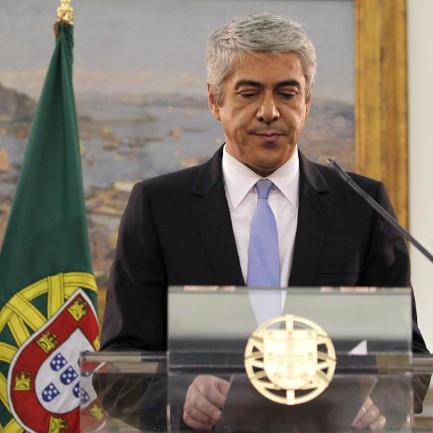 Portugal's financial collapse appears inevitable in the wake of Prime Minister Jose Socrates' resignation (AP)