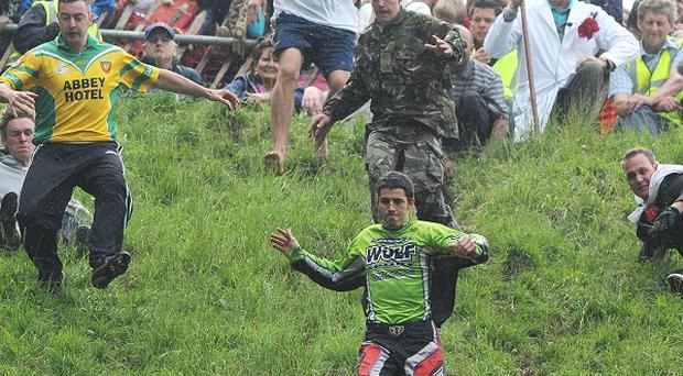 Cheese rolling races at Cooper's Hill, Gloucestershire, have been cancelled for a second year