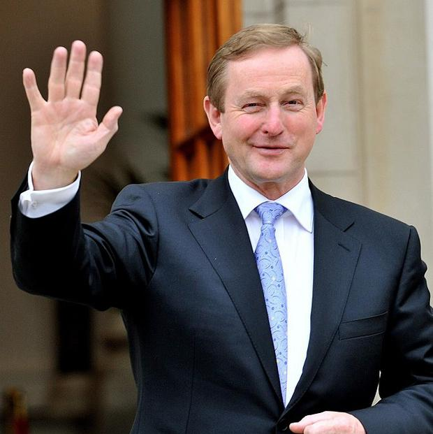 Taoiseach Enda Kenny has flatly denied a U-turn on any bailout deal