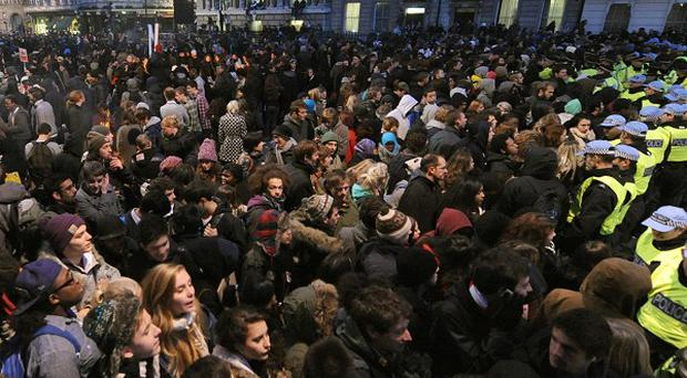 Up to 250,000 people are expected to join a protest in London against Government spending cuts