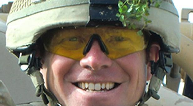 Major Matthew Collins, from the 1st Battalion Irish Guards, who was killed in Afghanistan